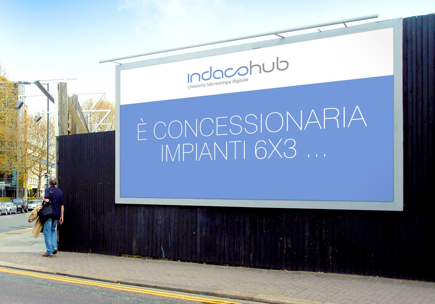 Indaco Hub | affissioni | coming soon